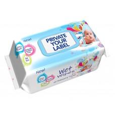 Baby Wet Wipes Ultra Soft 100 pcs