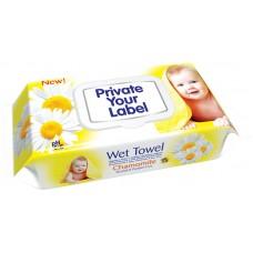 Baby Wet Wipes Chamomile 72 pcs