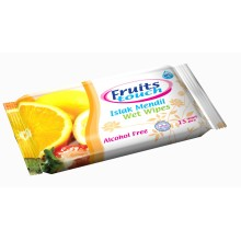 Pocket Wet Wipes Fruit Touch 15 pcs